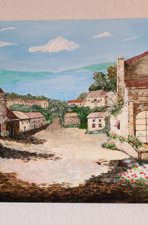 Italian Village on the Sea