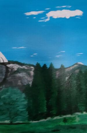 Half Moon at Yosemite Park
