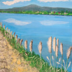 Cattails in the Breeze